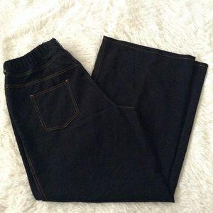 IMAN wide-leg pants